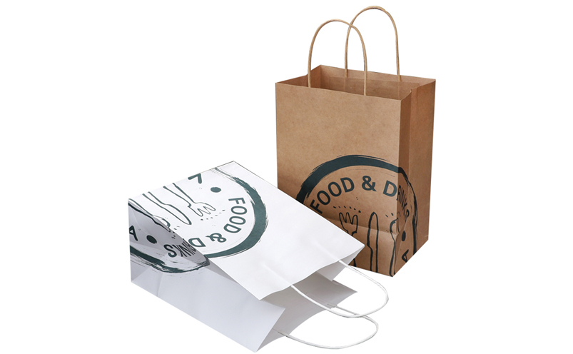 paper bags round handles